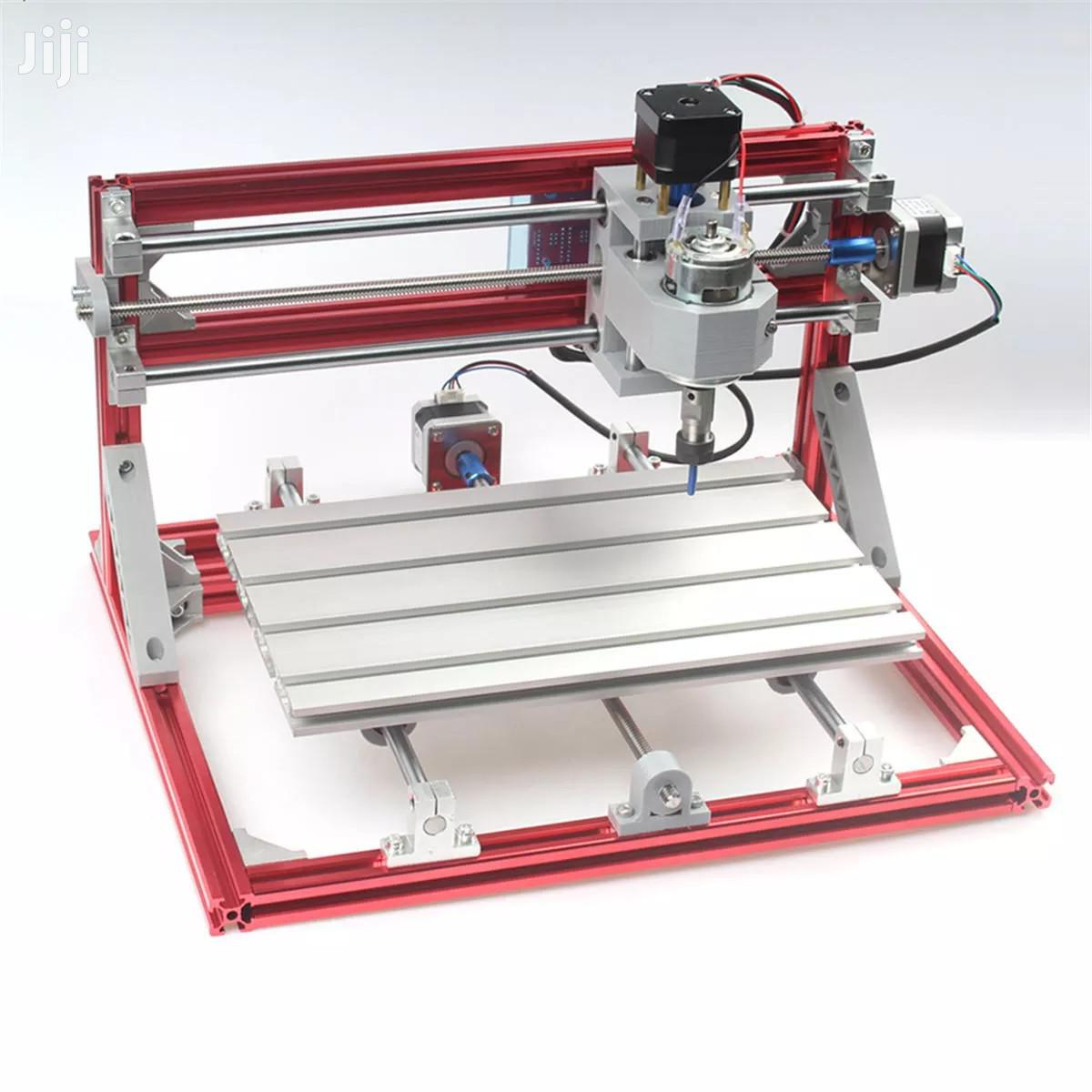 3018 3 Axis Red CNC Wood Engraving Carving PCB Milling Machine Router