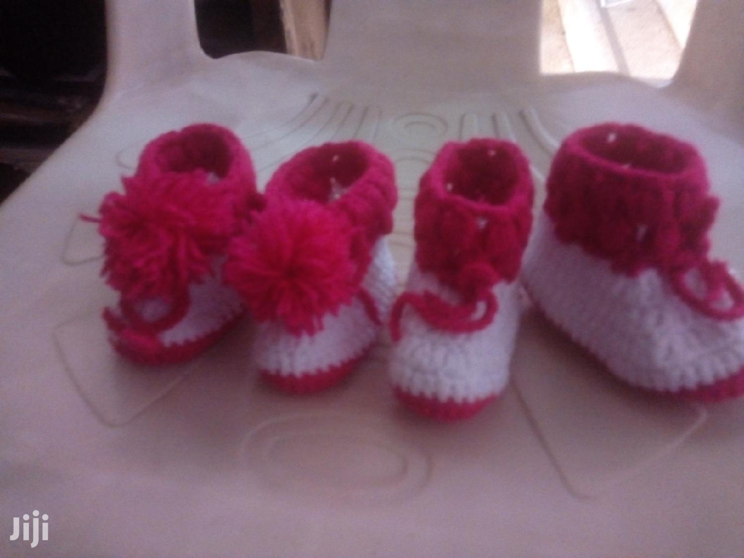 Crotched Baby Shoes