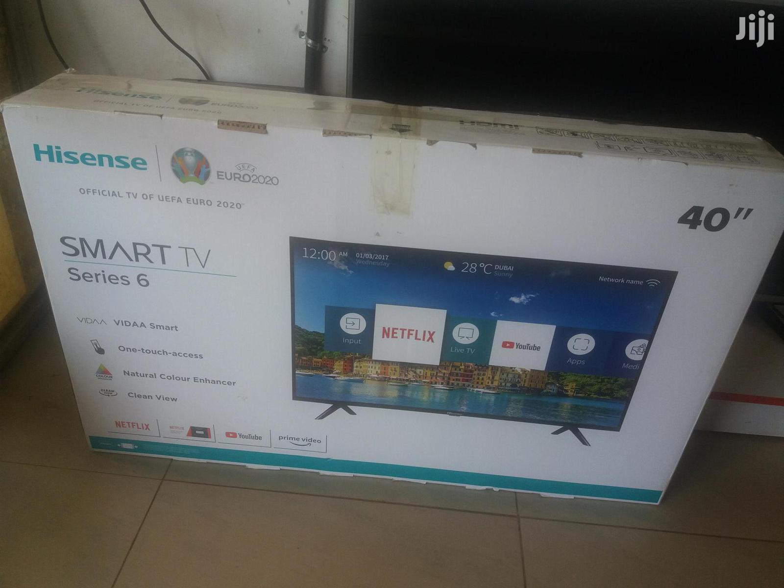 Archive: 40 Inches Led Hisense Smart Tv