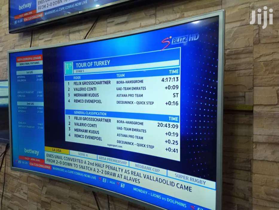 Brand New 55inches Samsung Curve UHD 4K Smart Tv