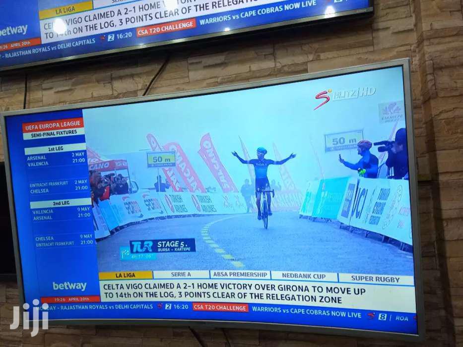 Brand New 55inches Samsung Curve UHD 4K Smart Tv | TV & DVD Equipment for sale in Kampala, Central Region, Uganda