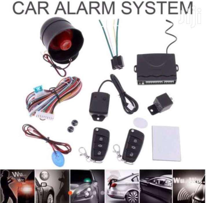 Anti Theft Car Alarm With Flip Key