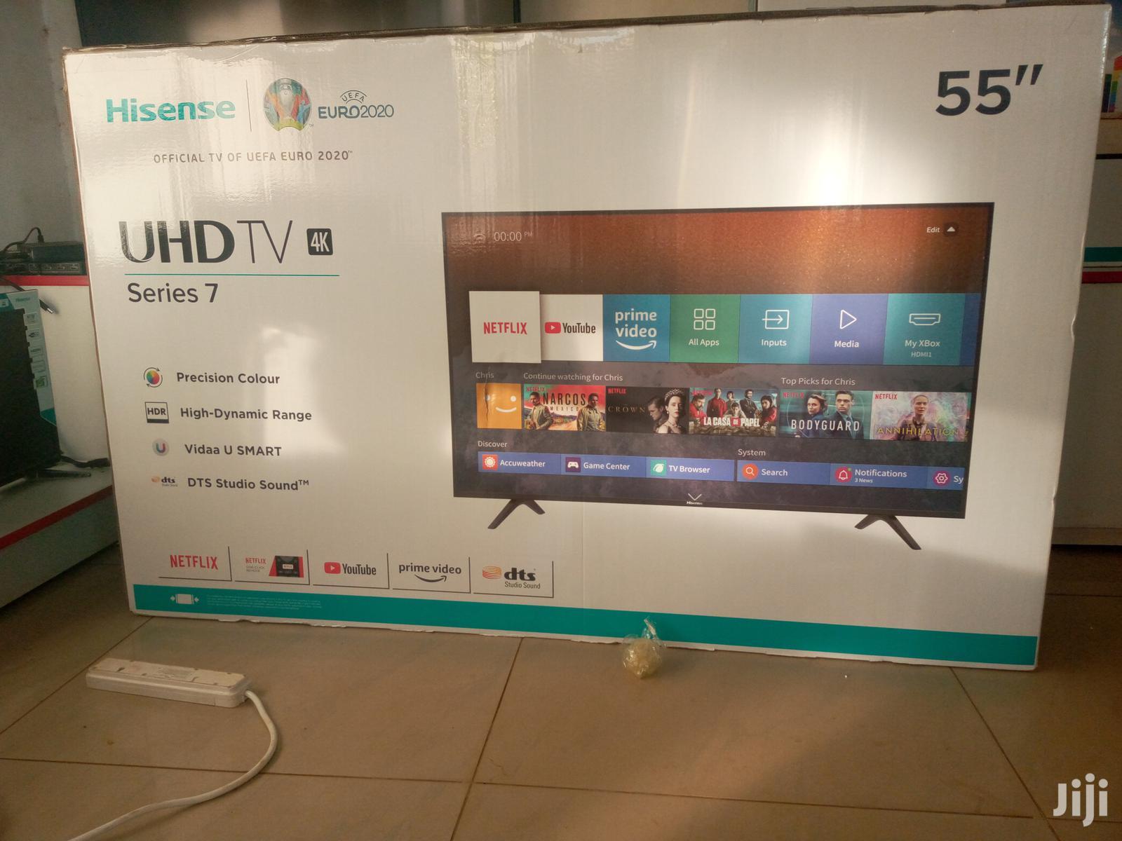 Archive: Hisense Smart UHD Tv 55 Inches