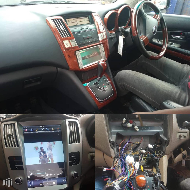 Tesla Car Radio For Harrier HYBRIDS