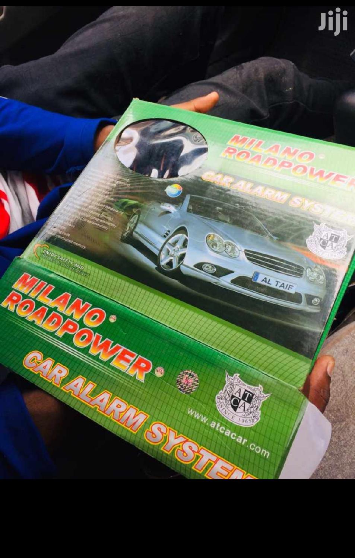Car Alarm Engine Starter