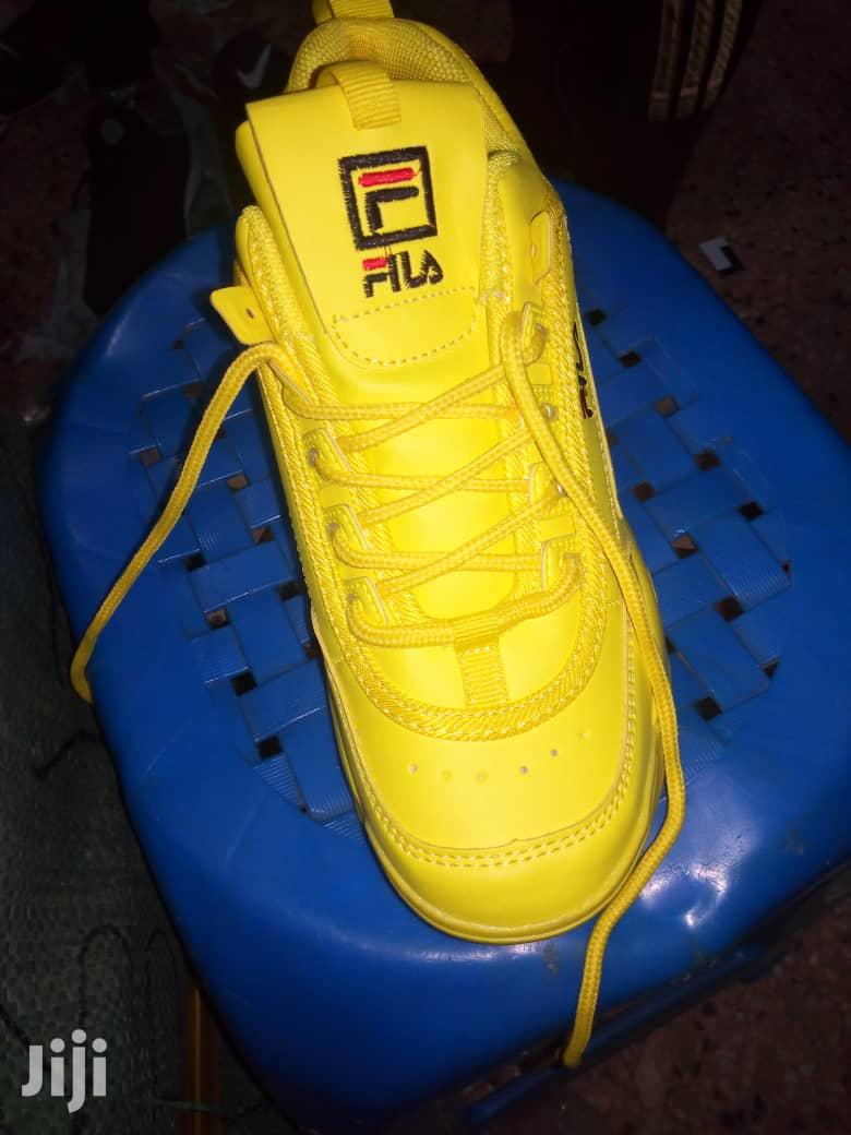 Yellow Fila Shoes | Shoes for sale in Kampala, Central Region, Uganda