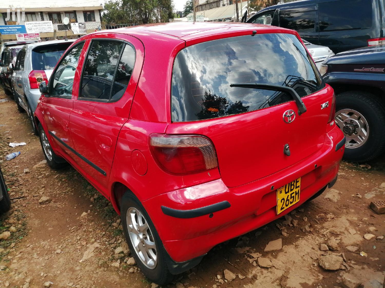 Archive: Toyota Vitz 2000 Red