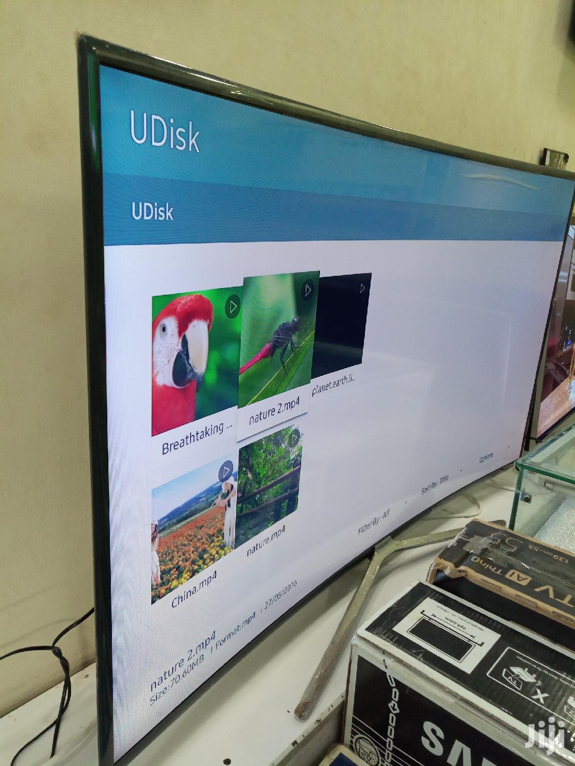 Samsung 55inches Smart SUHD Curved | TV & DVD Equipment for sale in Kampala, Central Region, Uganda