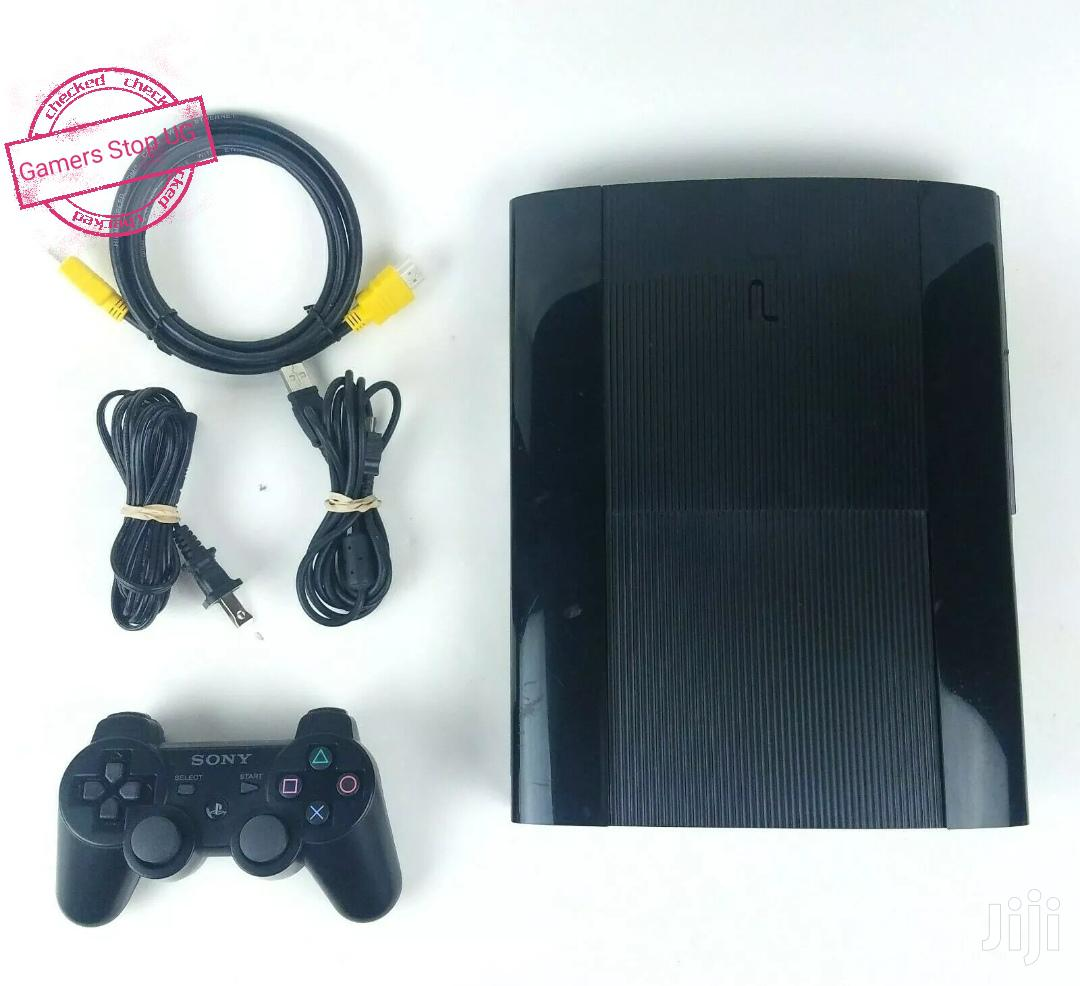 Playstation 3 Slim With 2 Controllers | Video Game Consoles for sale in Kampala, Central Region, Uganda