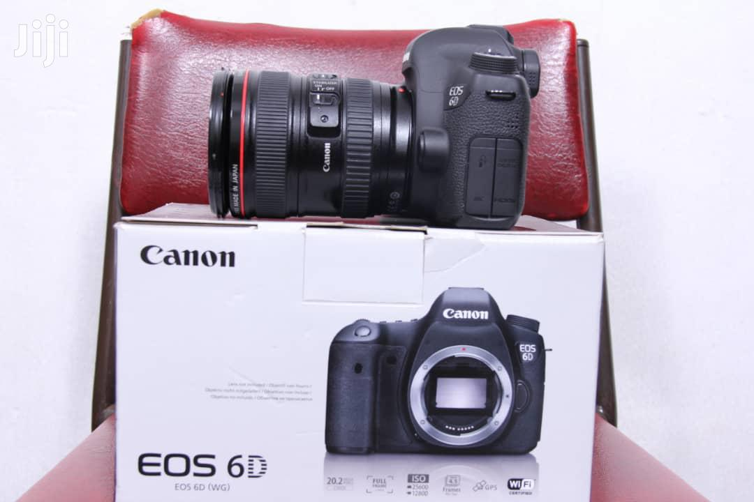 CANON EOS 6D Full Frame Camera With 24 -105mm Lens | Photo & Video Cameras for sale in Kampala, Central Region, Uganda