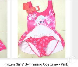 Frozen Girl's Swimming Costume -Pink   Children's Clothing for sale in Central Region, Kampala