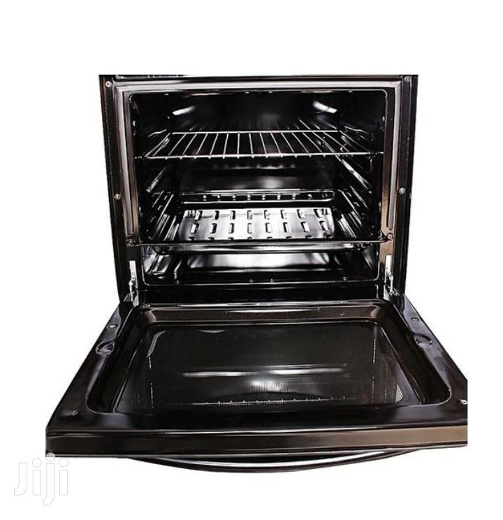 3 Gas + 1 Electric Plate Gas Cooker & Oven 50*50cm - Black