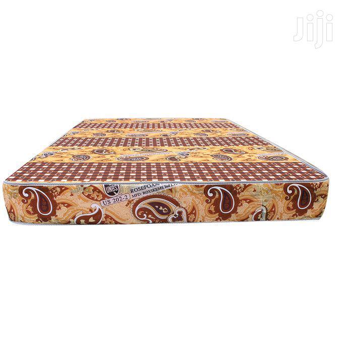 6*6 Rosefoam Tape Edge Mattress | Furniture for sale in Kampala, Central Region, Uganda