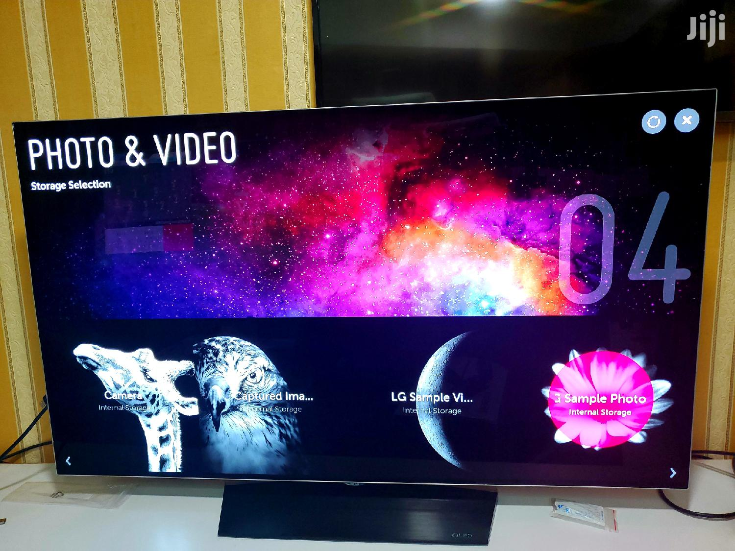 Brand New LG Oled Smart Uhd 4k Webos TV 55 Inches