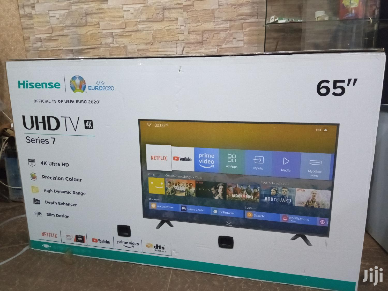 "Brand New Hisense 65"" Smart 4K UHD Led Tvs"
