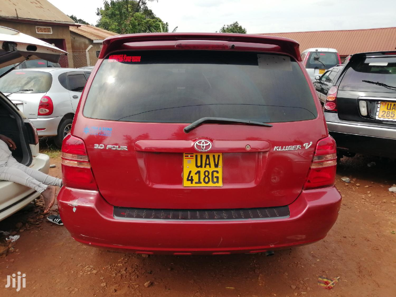New Toyota Kluger 2004 Red | Cars for sale in Kampala, Central Region, Uganda