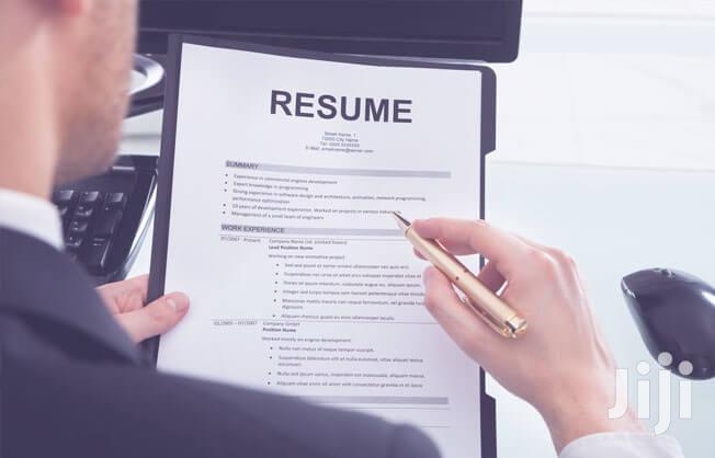 Resume/CV Writing Experts.