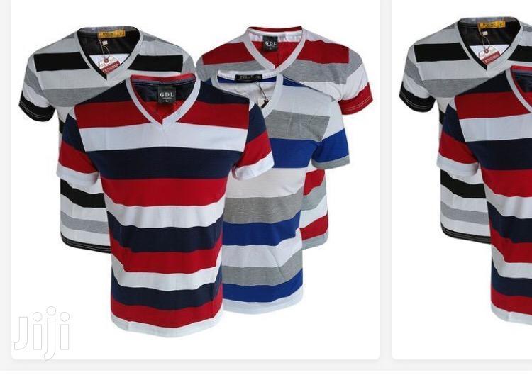 Mega Pack of 4 V-Shaped T-Shirts