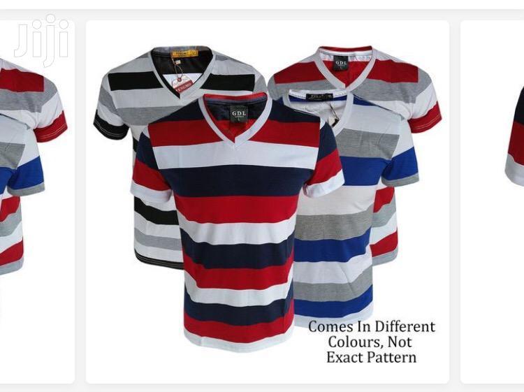 Mega Pack of 4 V-Shaped T-Shirts | Clothing for sale in Kampala, Central Region, Uganda