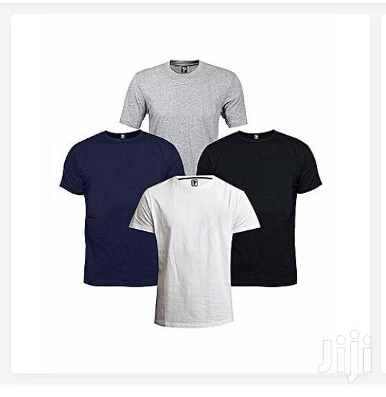 4 in 1 Pack of Men'S Cotton T-Shirts