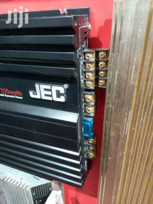 JEC AMPLIFIER FOR CARS
