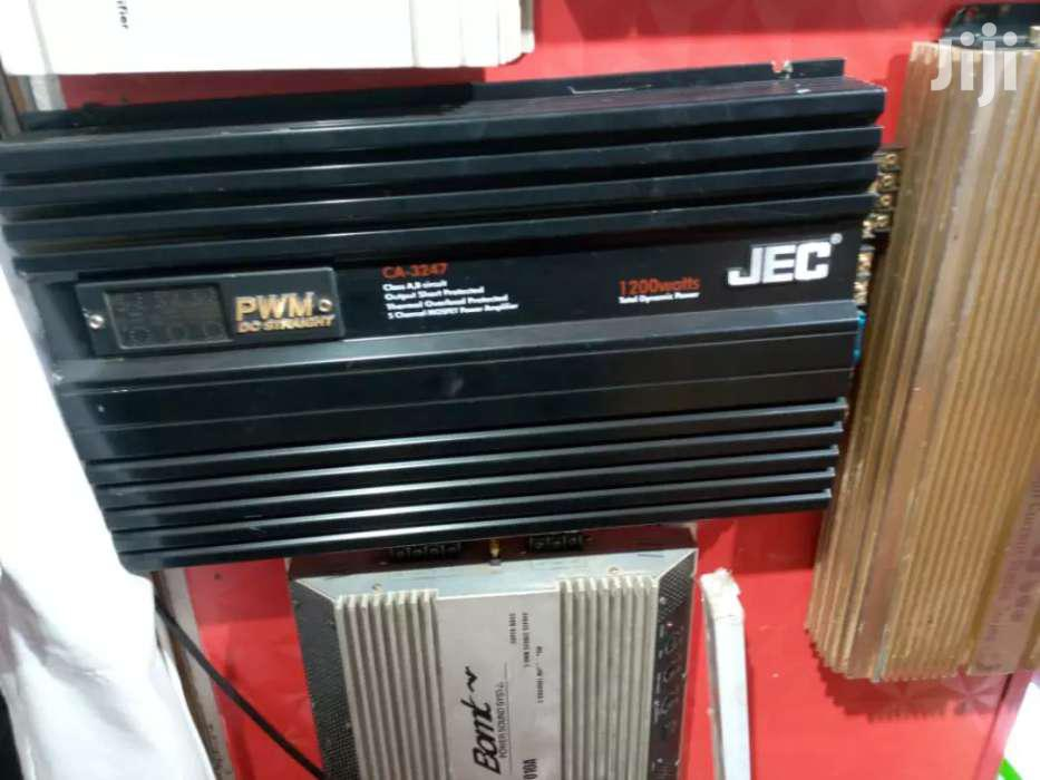 JEC AMPLIFIER FOR CARS | Vehicle Parts & Accessories for sale in Kampala, Central Region, Uganda