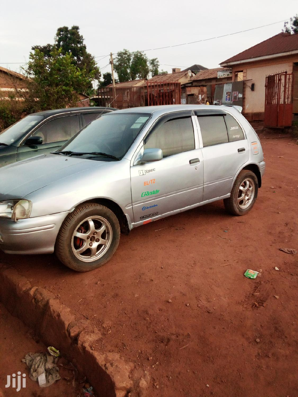 Toyota Starlet 1998 Silver