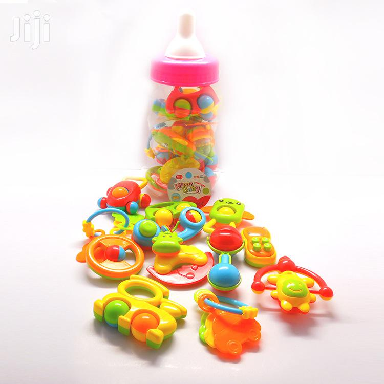 Tin of Baby Rattles /Shakers