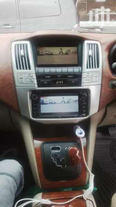 Toyota Harrier Double Radio
