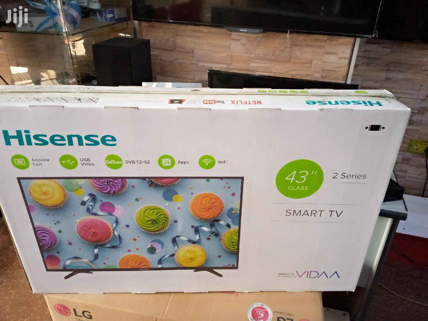 Brand New Hisense Smart TV 43 Inches