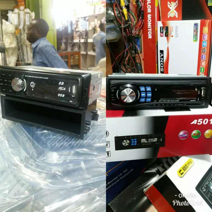 Car Radio With Flash And All Radio Stations