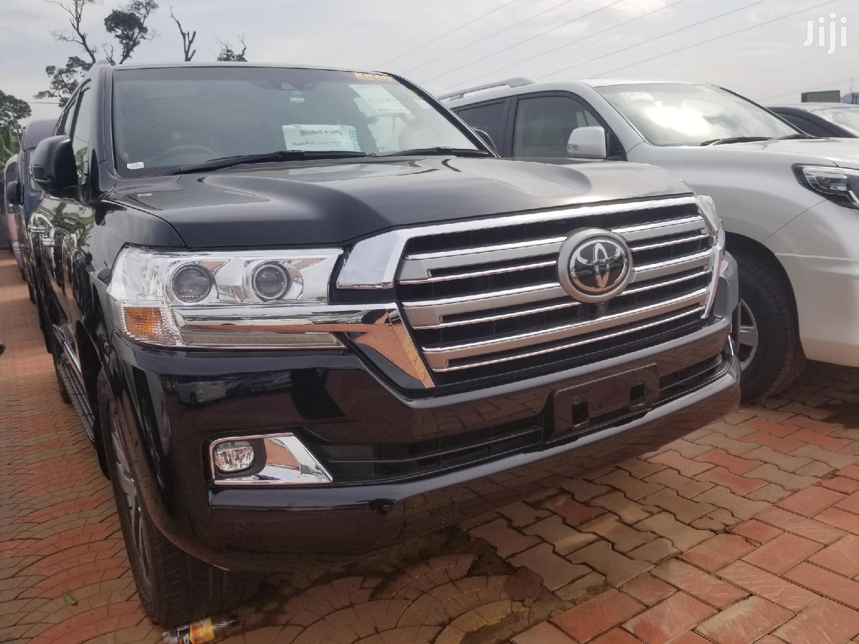 Toyota Land Cruiser 2016 Black