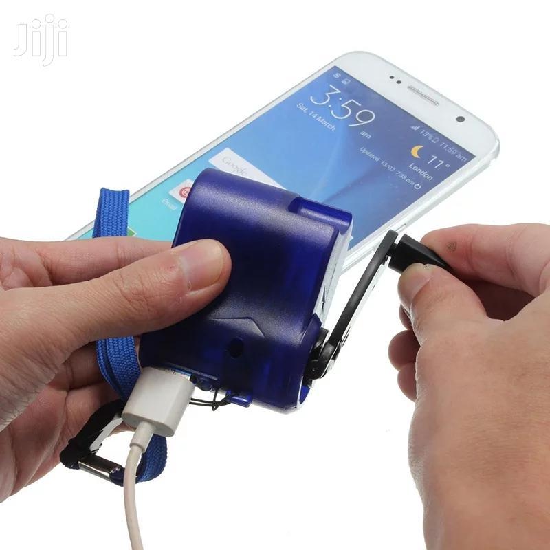 Hand Winding Emergency Hand Crank USB Dynamo Charger