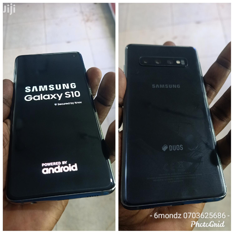 Samsung Galaxy S10 128 GB Black   Mobile Phones for sale in Kampala, Central Region, Uganda