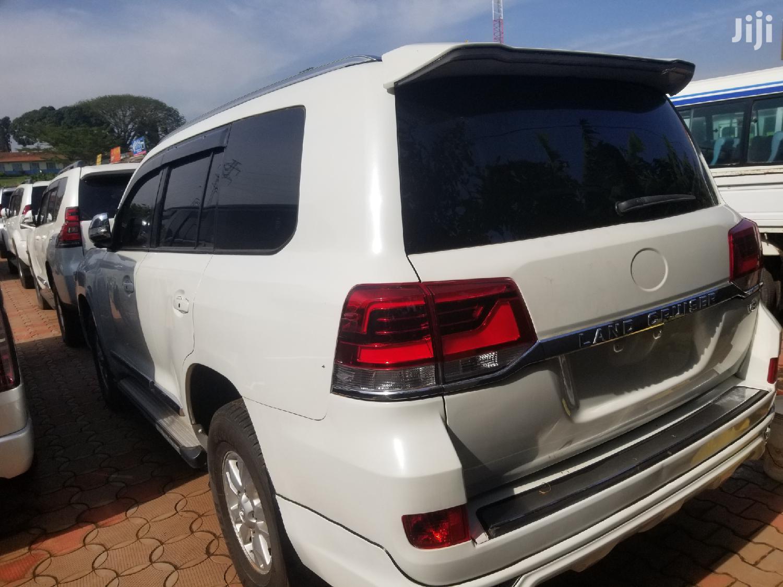 Toyota Land Cruiser 2008 White | Cars for sale in Kampala, Central Region, Uganda