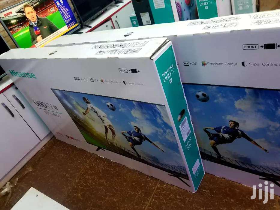 Brand New Hisense UHD 4k Smart TV 55 Inches | TV & DVD Equipment for sale in Kampala, Central Region, Uganda