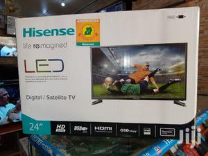 Hisense Digital Satellite Flat Screen TV 24 Inches   TV & DVD Equipment for sale in Central Region, Kampala