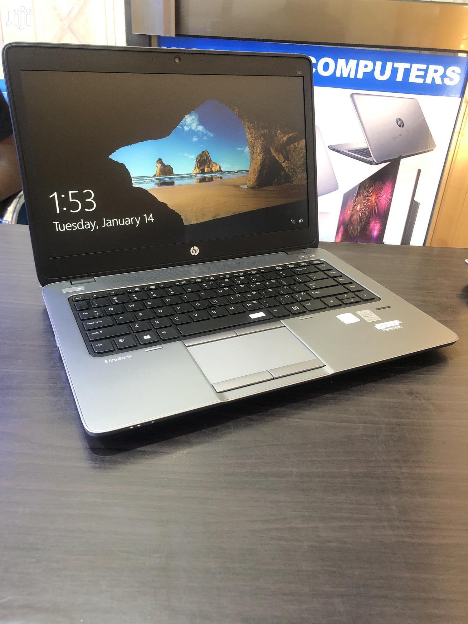Laptop HP EliteBook 840 G1 4GB Intel Core i5 500GB | Laptops & Computers for sale in Kampala, Central Region, Uganda
