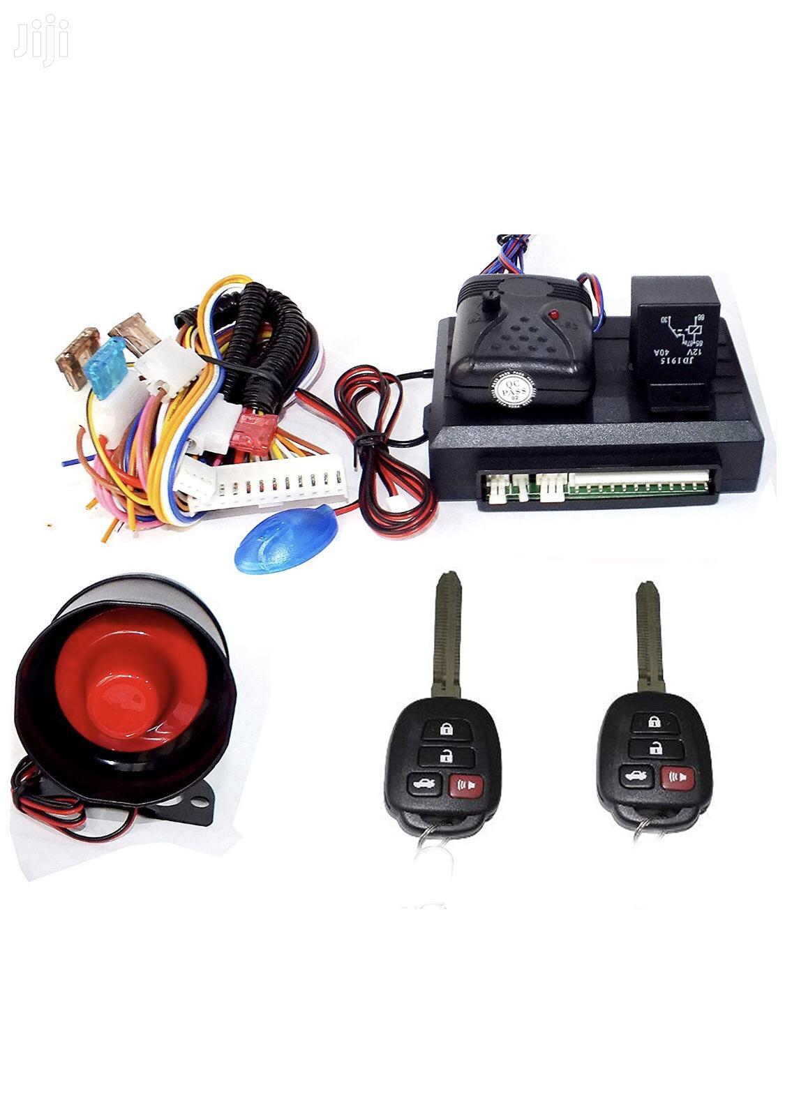 Universal Car Alarm Systems Remote Control 2 KEYS KEYLESS ENTRY SYSTEM