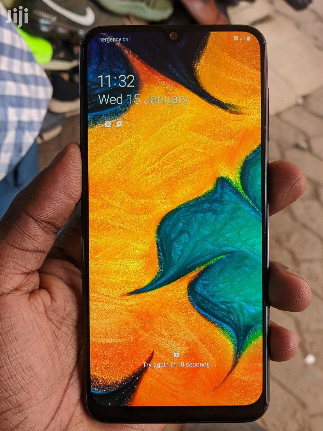 Samsung Galaxy A30 64 GB Black | Mobile Phones for sale in Kampala, Central Region, Uganda