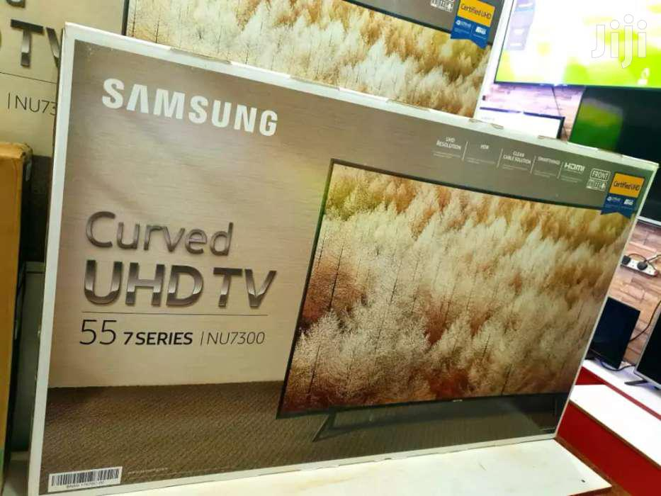 Brand New Samsung Smart 4K UHD Curved TV 55 Inches