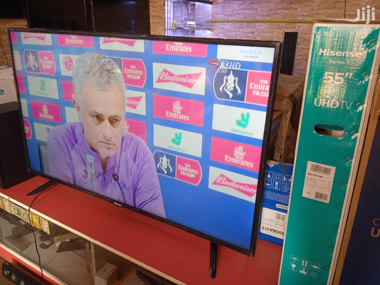 "Hisense 55"" Smart 4K UHD Ultra Slim Led Tvs. Brand New Boxed"