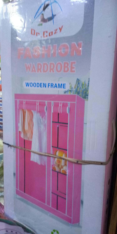 Modern Metillalic Wardrobe