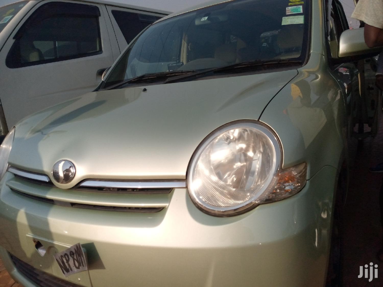 Toyota Sienta 2007 Green   Cars for sale in Kampala, Central Region, Uganda