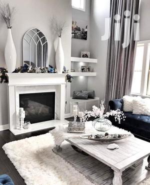 Modern White Shaggy Carpet