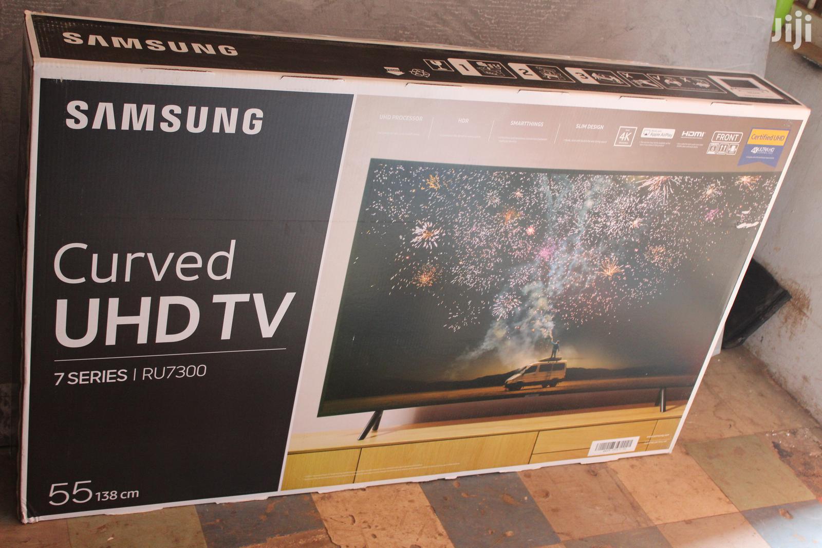 Samsung 55 Inch Curve Tv   TV & DVD Equipment for sale in Kampala, Central Region, Uganda