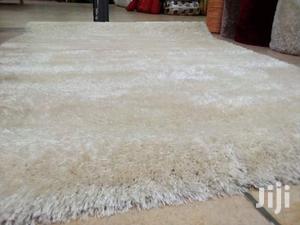 White Shaggy Carpet
