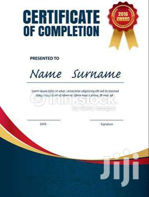 Certificates | Printing Services for sale in Central Region, Kampala