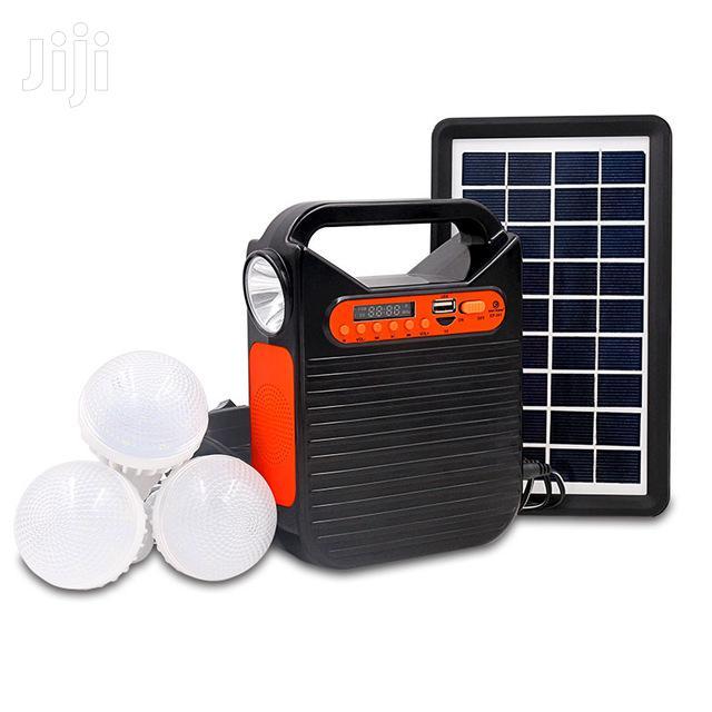 Solar KIT 3 Lights,Torch ,Radio ,Phone Charging