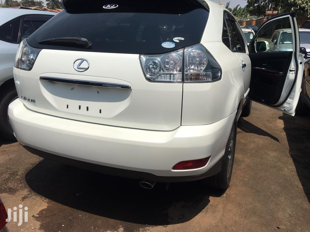Archive: Toyota Harrier 2008 White